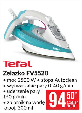 Żelazko Tefal Aquaspeed Precision FV 5220