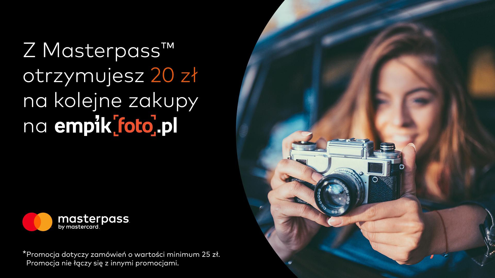 -20zł na kolejne zakupy na empikfoto.pl z Masterpass (MWZ 25zł)