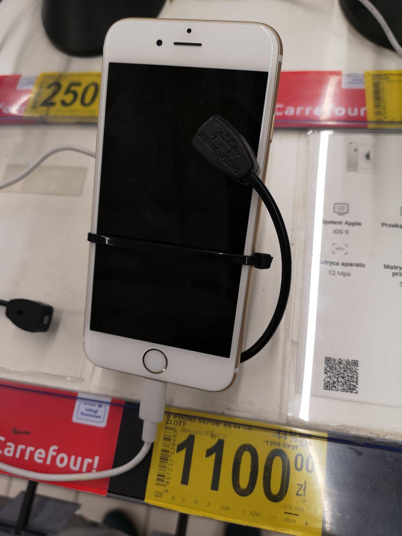 iPhone 6S 64 GB złoty RFB Atrium Targówek Carrefour