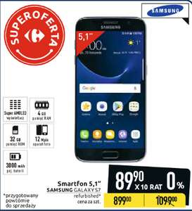 Samsung Galaxy S7 Carrefour