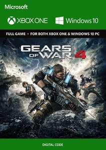 Gears of War 4 Xbox One/PC (Win10)