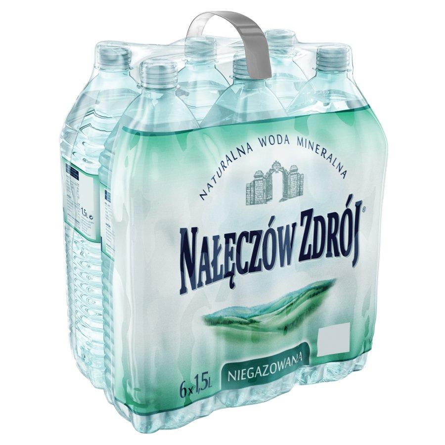 Woda mineralna Nałęczów Zdrój 1,5 L niegaz.,  Lidl