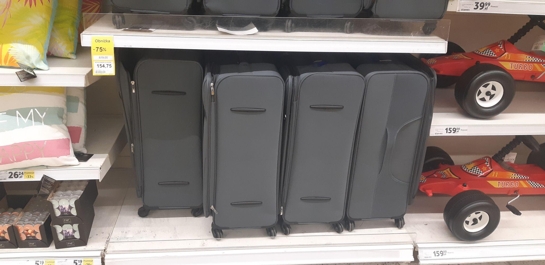 Zestaw walizek 4 w 1 - Tesco