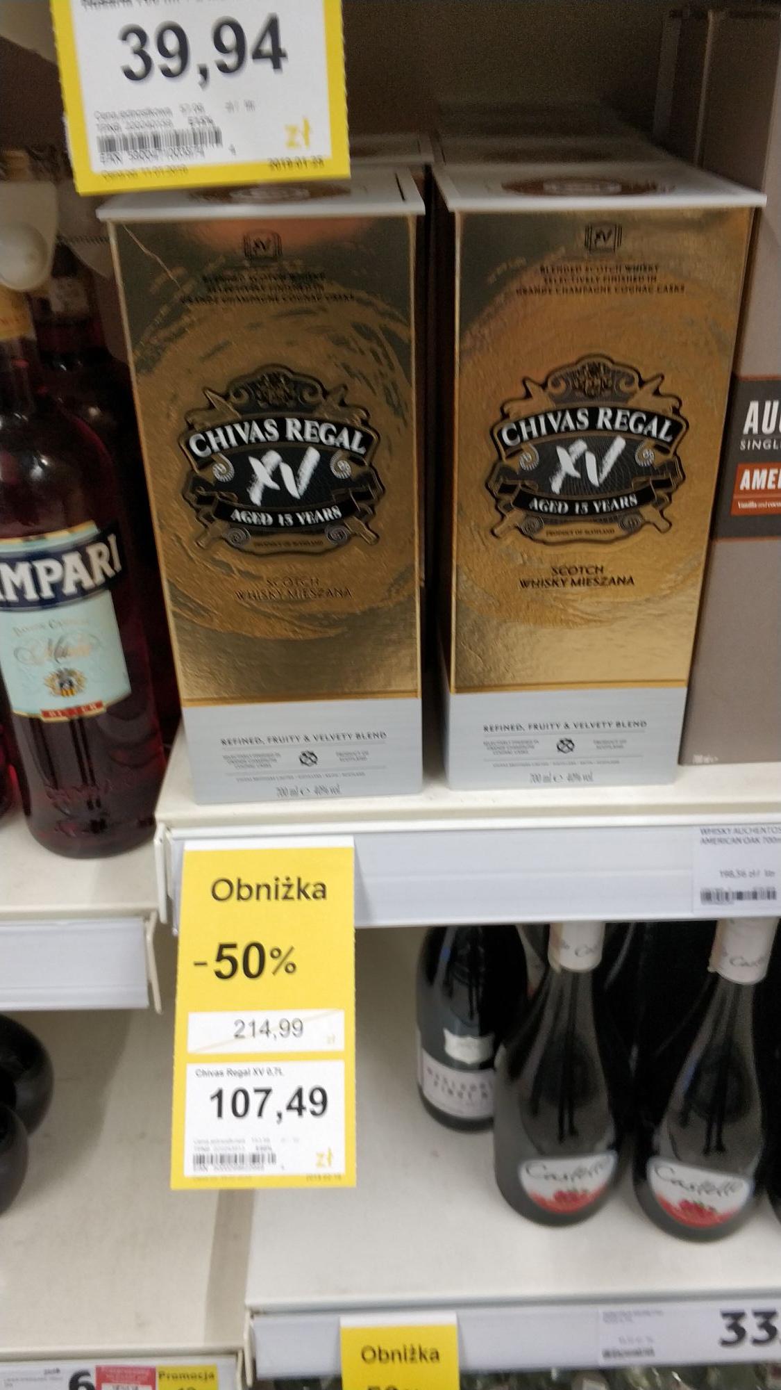 Tesco alkohole - Wyprzedaż ogólnopolska (Wódka, Whisky i inne)