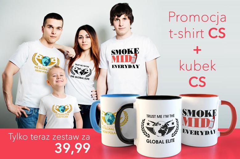 -20% Koszulka + Kubek CS:GO - Dla graczy