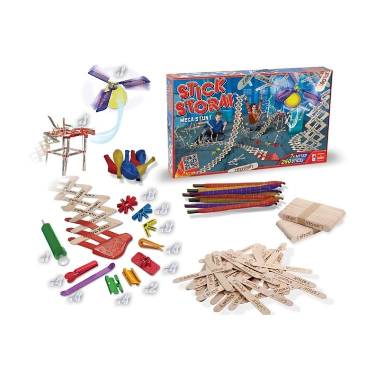Zabawka - gra z patyczków - STICK STORM MEGA STUNT