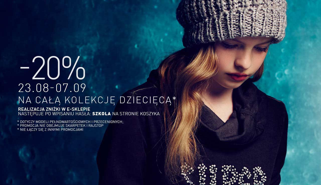 Rabat 20% na kolekcje dziecięcą @ Reserved