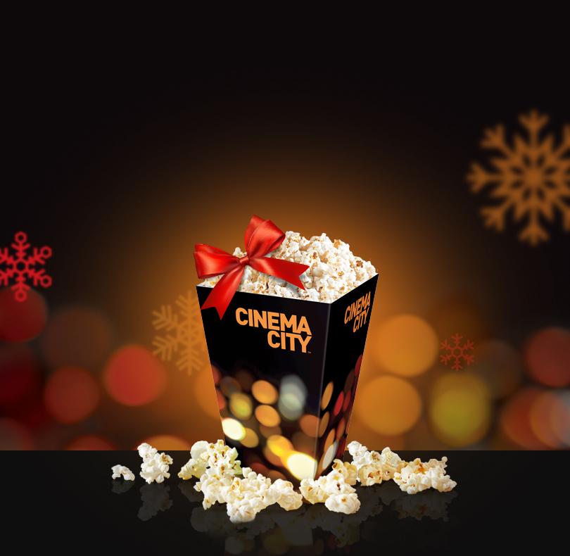 Cinema City darmowy Popcorn dla 10 znajomych*