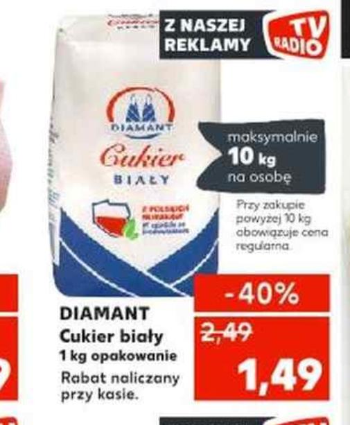 Cukier z polskich buraków Diamant