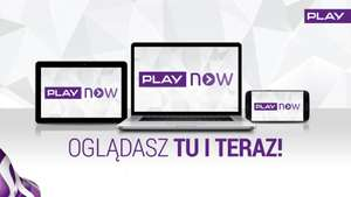 PLAY NOW TV  PLAY test przez 6 miesięcy bez opłat i zobowiązań!