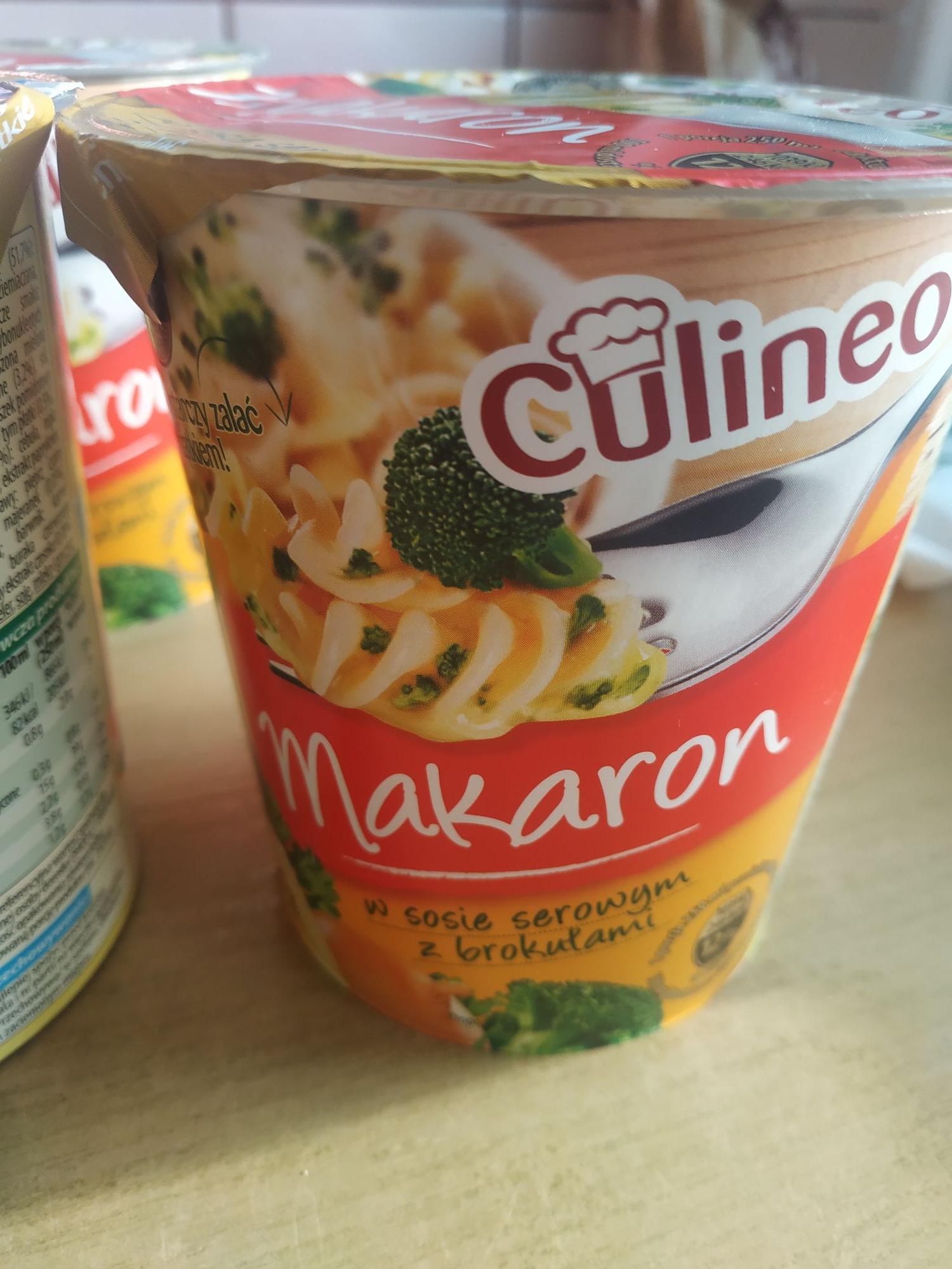 Makaron Culineo (serowy, spaghetti, gulaszowy) BIEDRONKA