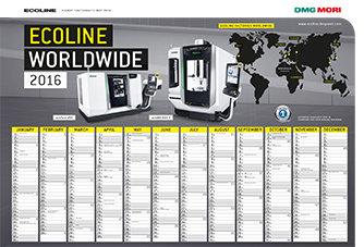 DARMOWY Kalendarz ECOLINE 2016