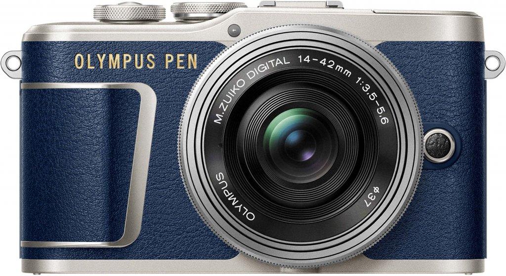 Aparat Olympus PEN E-PL9 + obiektyw 14-42mm Pancake niebieski, i inne promocje z kodami na ABFOTO