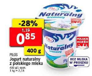 Jogurt naturalny kremowy 400g. @Lidl
