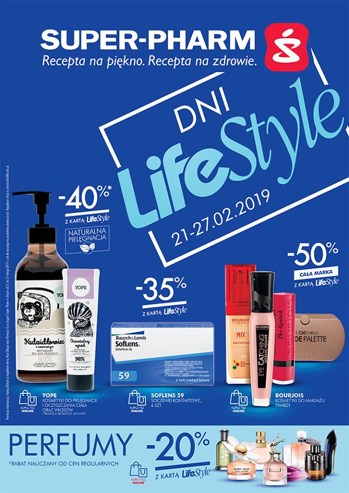 Dni LifeStyle - 50% rabatu na wybrane marki @ Super-Pharm