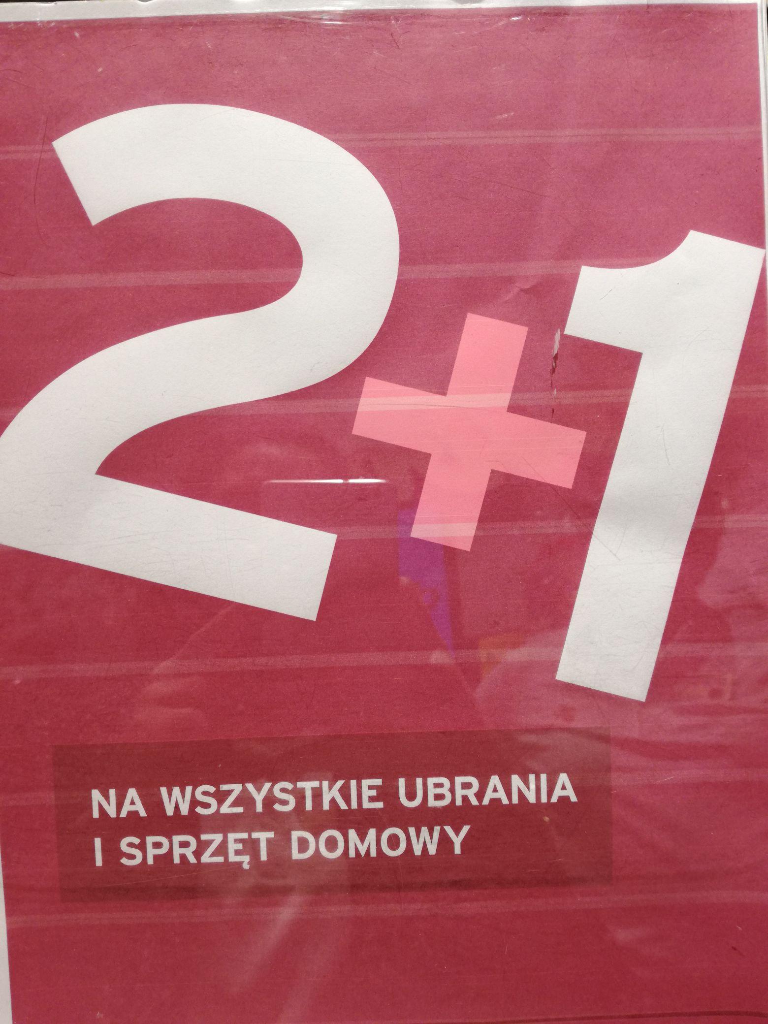 2 +1 Tchibo C.H Serenada Kraków!!!