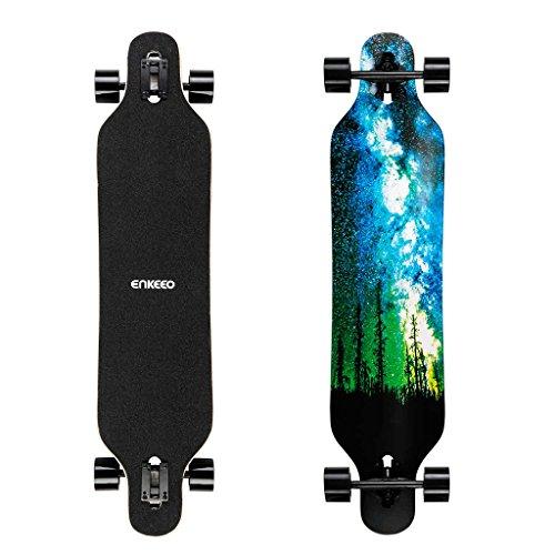 Longboard ENKEEO - 23x103.5cm (3 wersje kolorystyczne) @ Amazon (ES)