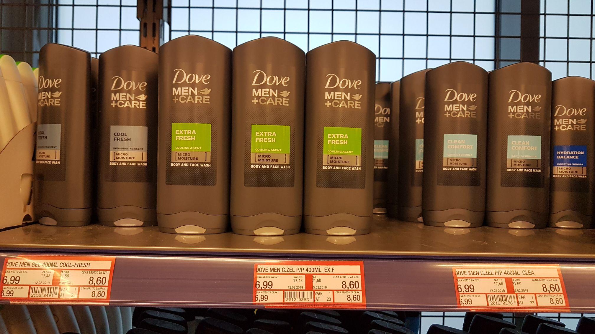 Dove Man+Care 400ml żel pod prysznic MAKRO
