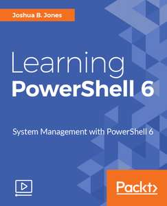 Darmowy ebook / video - Learning PowerShell 6 z @ paktpub