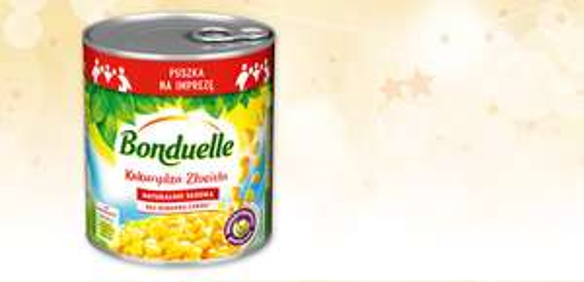 Kukurydza konserwowa Bonduelle 850ml za 4,89zł @ Biedronka