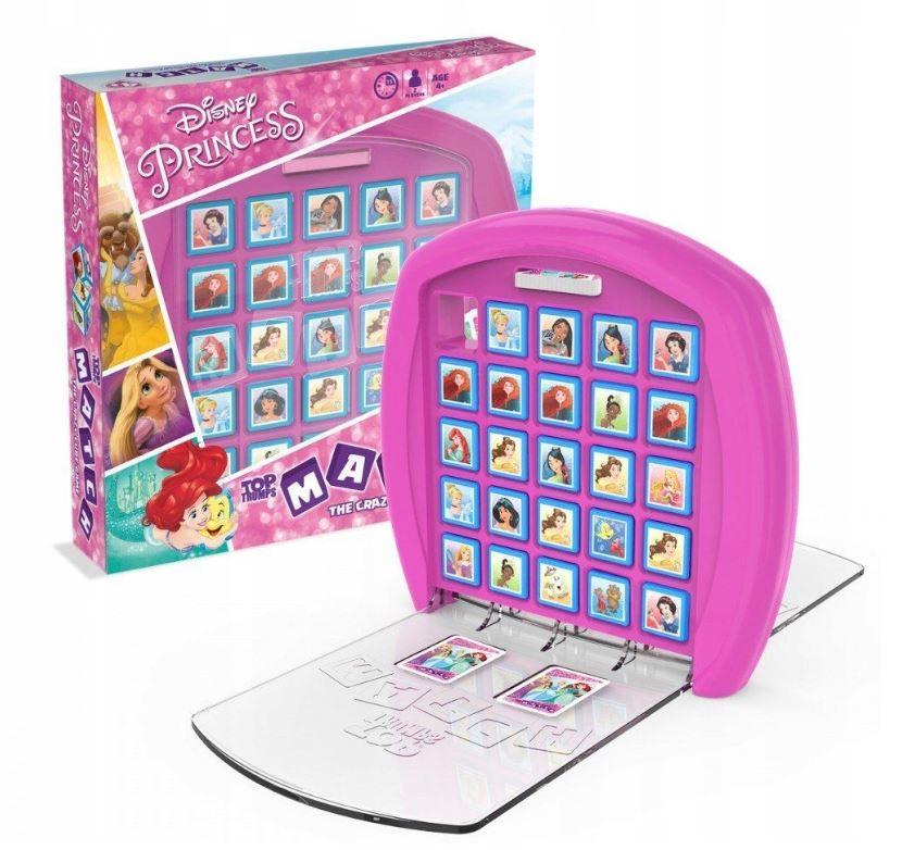 Gra logiczna Match Princess Księżniczki Disney'a dostawa 9,90 zł Paczkomat