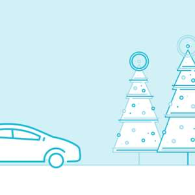 Choinka z dostawą za 70 zł @ Uber