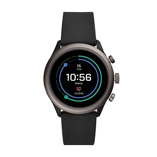 ZEGAREK SMARTWATCH Fossil Sport FTW4019 smartwatch, unisex, czarny silikon