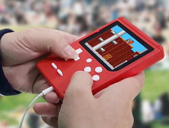 "Mini Konsola 3"" z retro grami FC280 Nostalgic 400-in-1 Handheld Game Console"