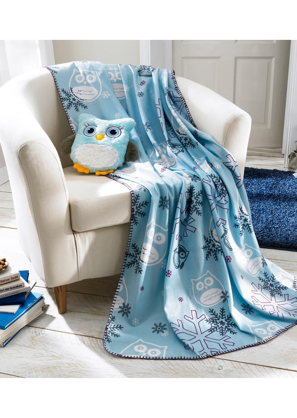 Koc + poduszka-przytulanka za 24,99zł @ Bonprix