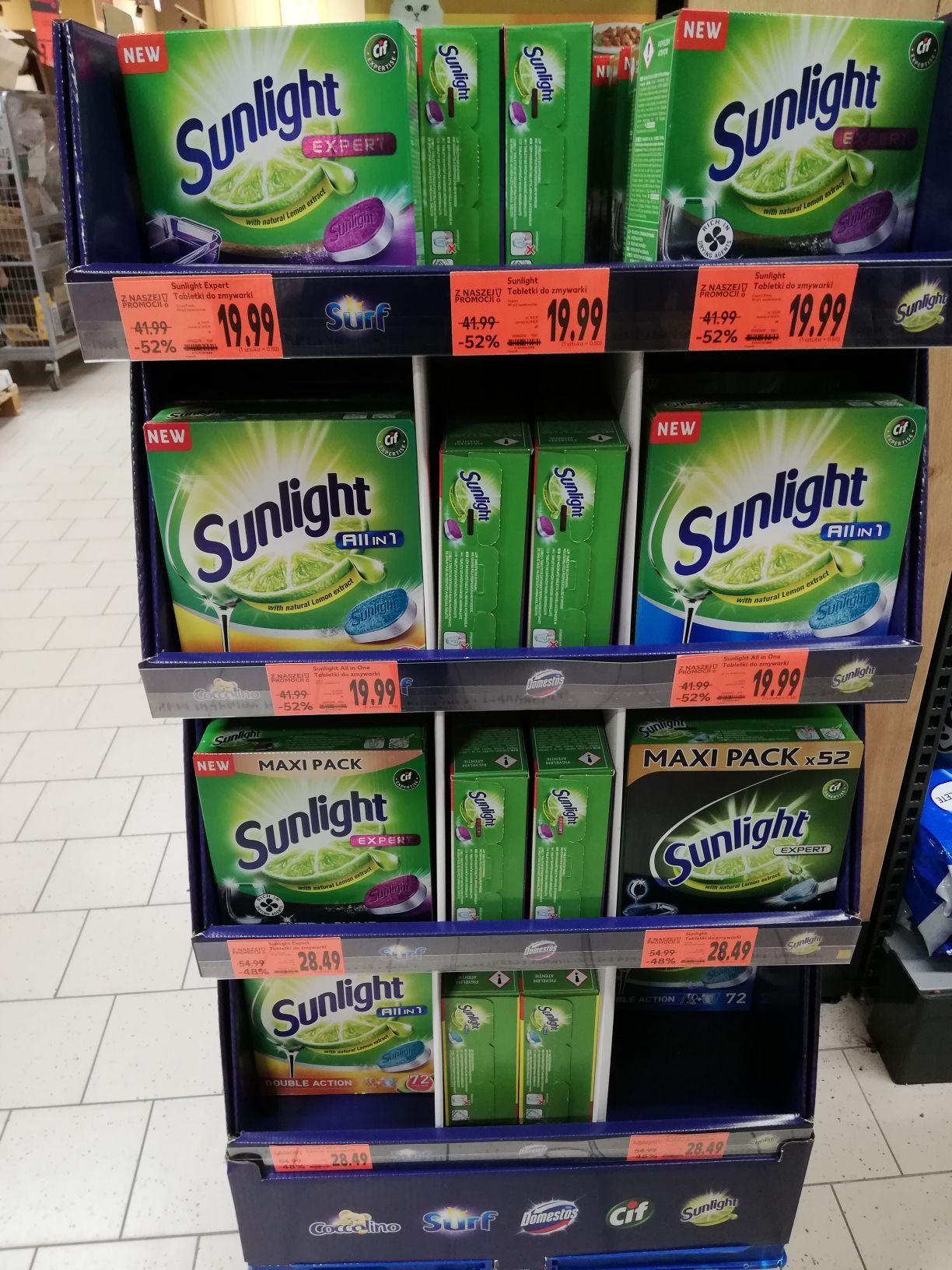 Tabletki do zmywarki Sunlight Expert w Kaufland