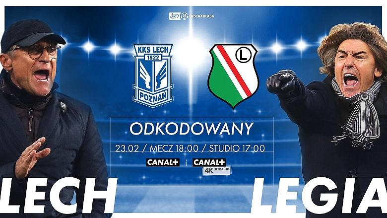 player.pl - mecz Lech - Legia (bez żadnej umowy i za darmo) o 18.00 dzis