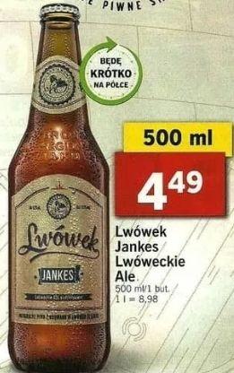 """Piwo Lwówek Jankes (""""APA"""") @ Lidl"""