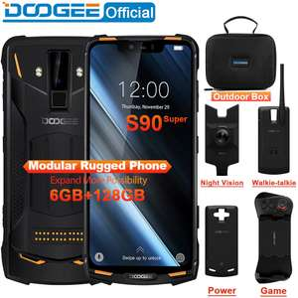 Doogee S90 - wytrzymały smartfon z dołączanymi modułami