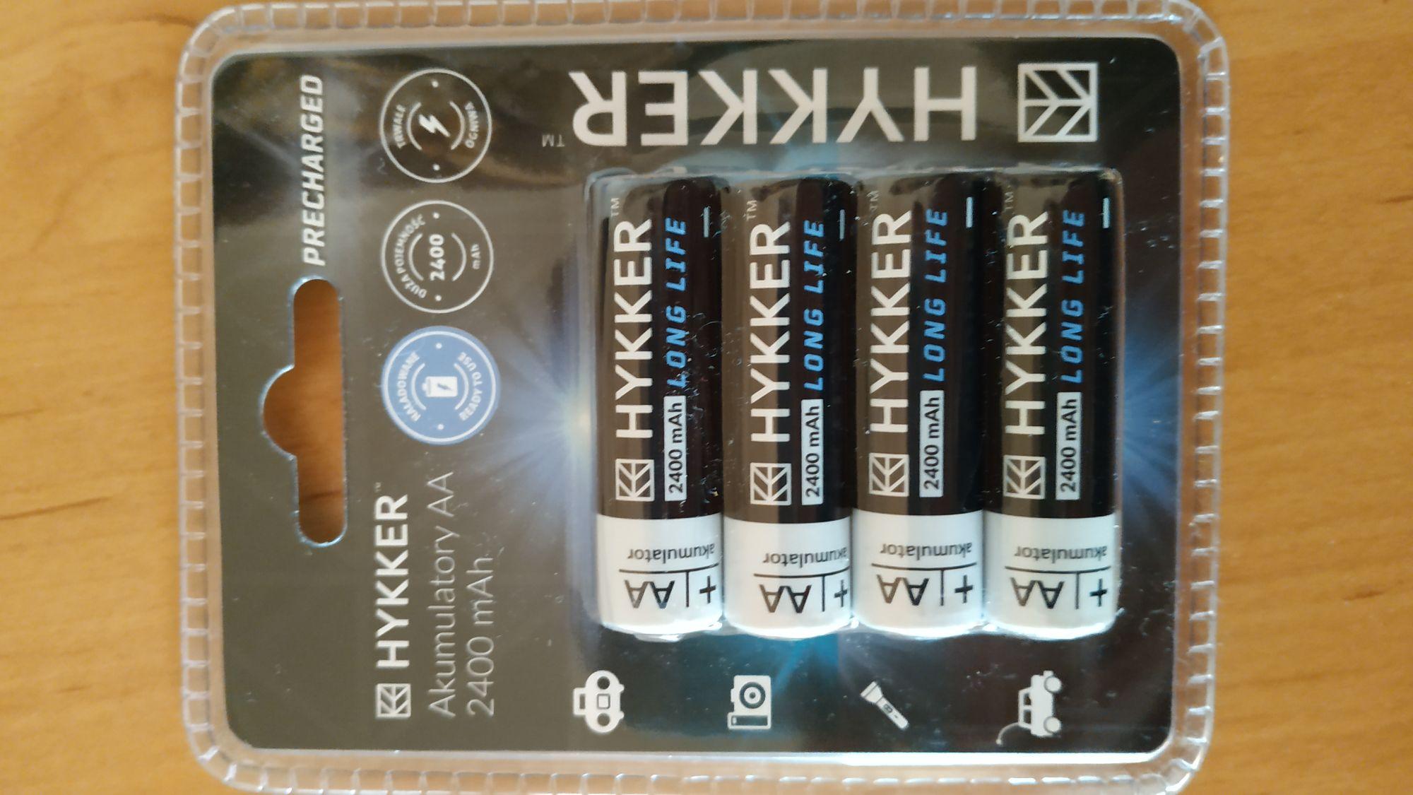 Akumulatorki AA Hyker