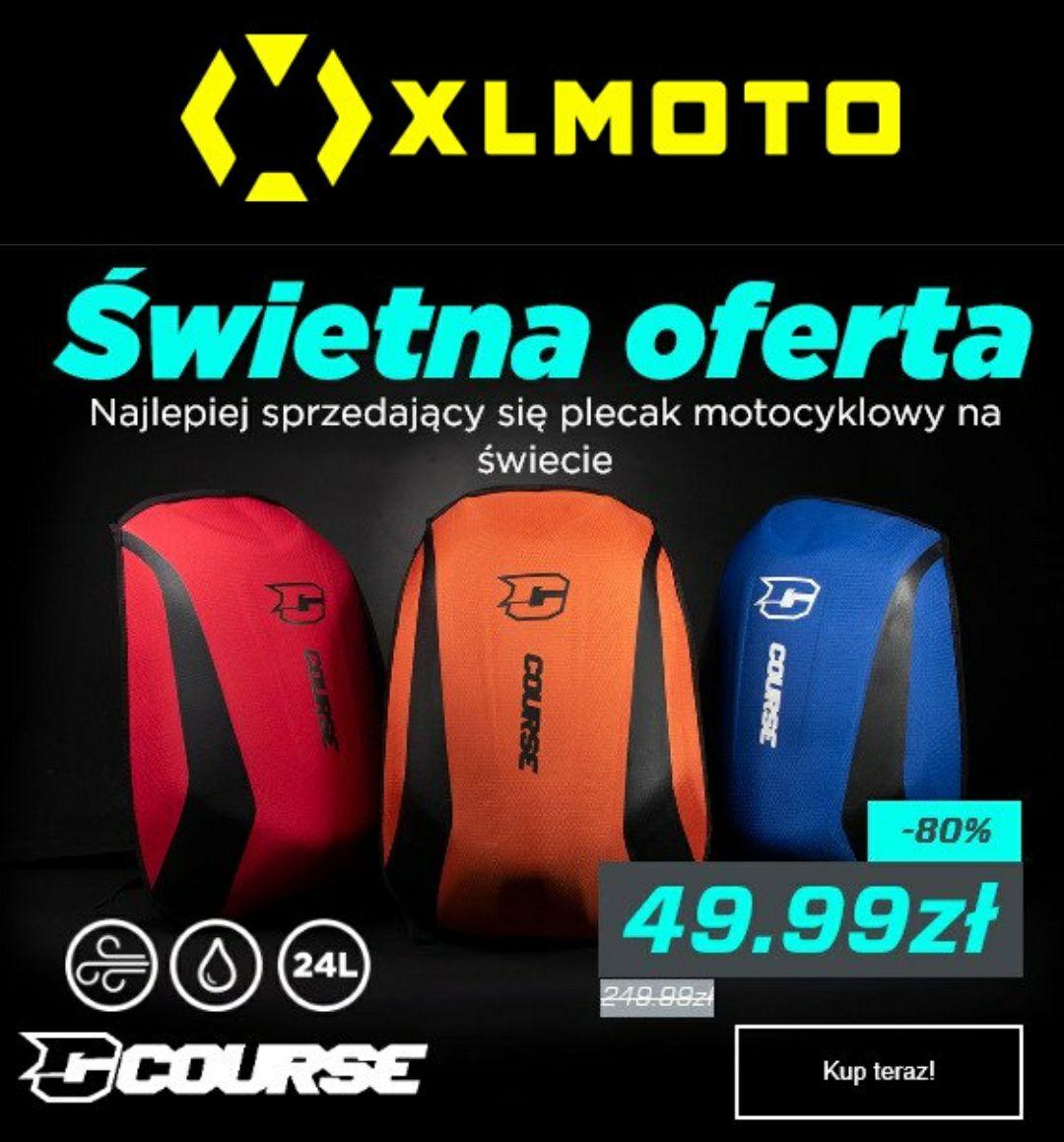 Plecak motocyklowy Course Slipstream wodoodporny