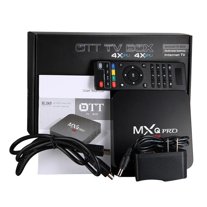 Urządzenie MXQ Pro Amlogic S905 z Androidem do TV @geekbuying