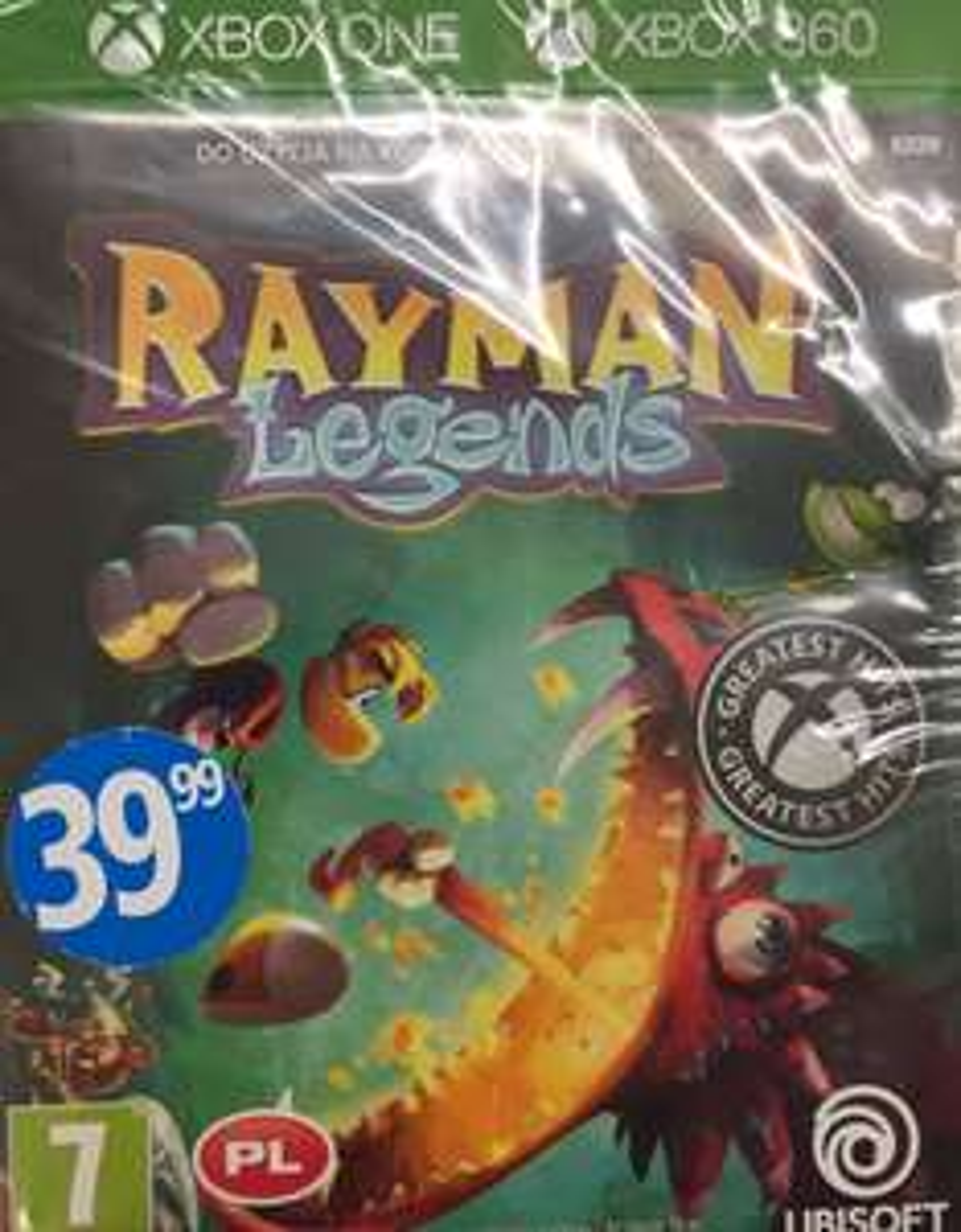 Rayman Legends xbox x/360 Biedronka