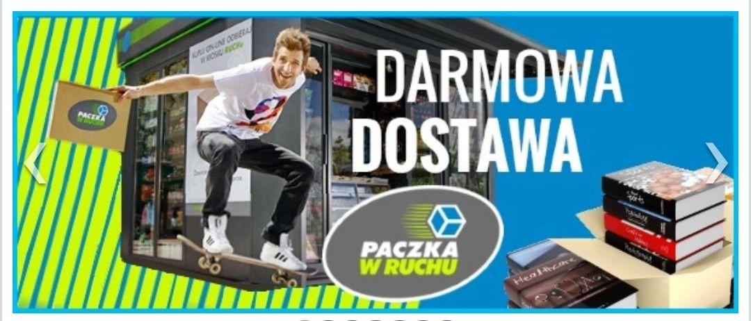Darmowa dostawa do kiosków Ruchu MWZ 15 zł @dadada.pl (księgarnia internetowa, książki)