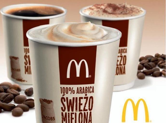 """McDonald's kazda kawa w każdy poniedziałek Marca i Kwietnia za 2 zł """"Kawowe poniedziałki"""" W McDonald's"""