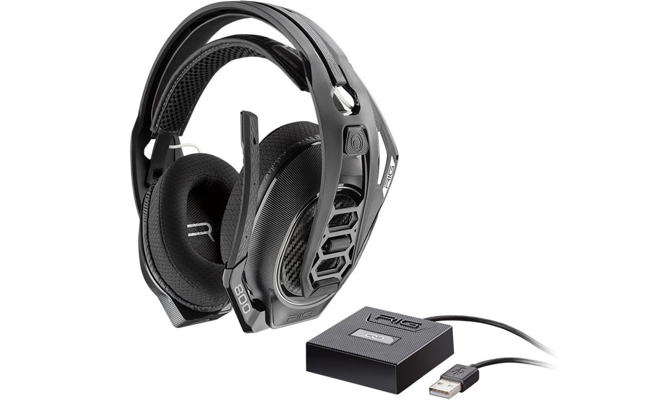 Słuchawki Plantronics RIG 800LX for Xbox One z Dolby Atmos, aż 24 h na jednym ładowaniu