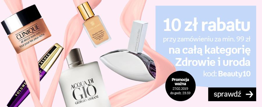 Dodatkowe 10zł rabatu na perfumy i kosmetyki w empik.com
