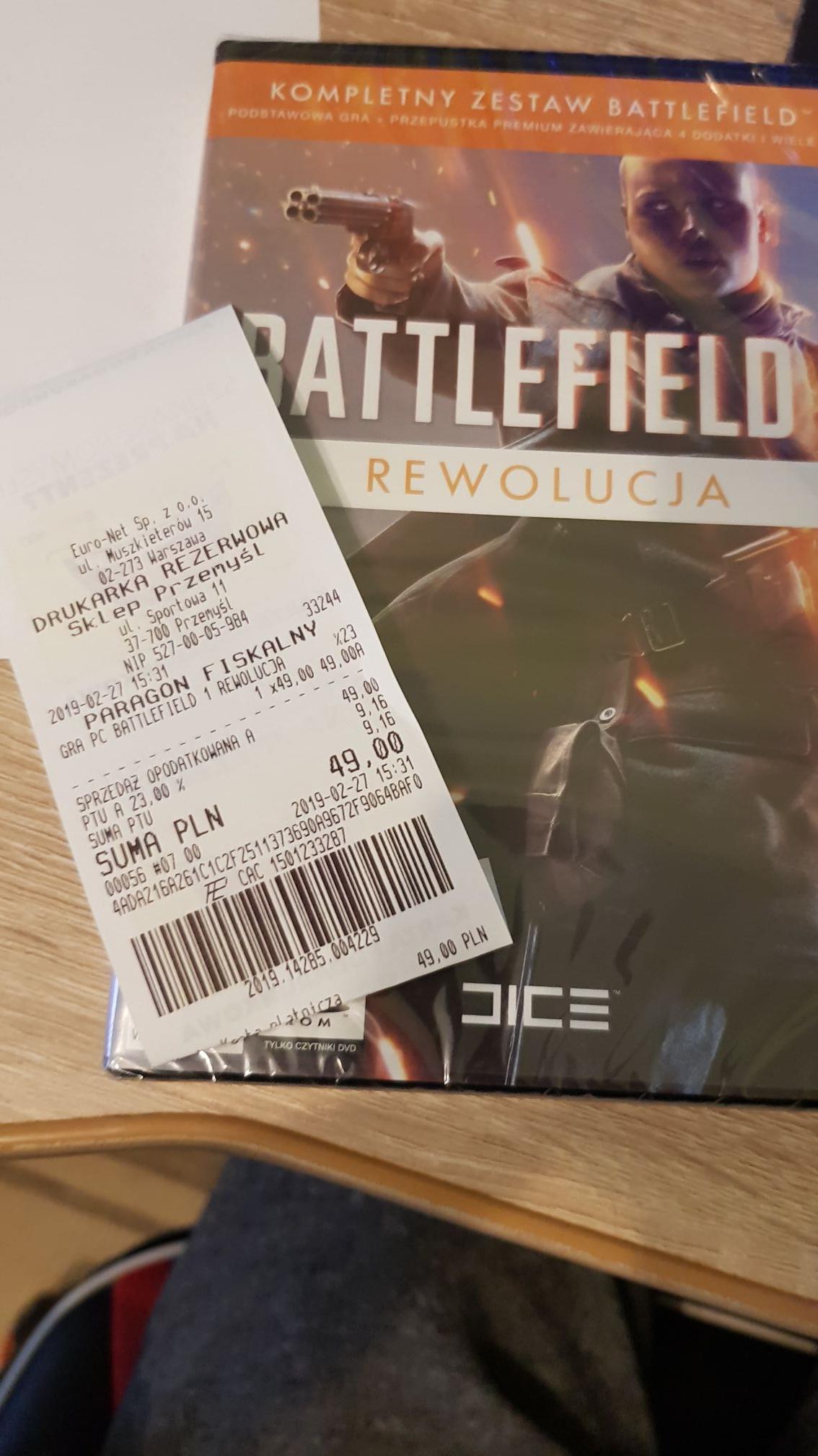 Battlefield 1 Rewolucja -PC  Euro AGD