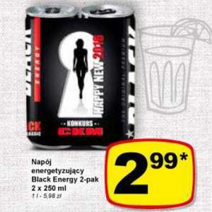 Black Energy 2 pack Żabka/Freshmarket