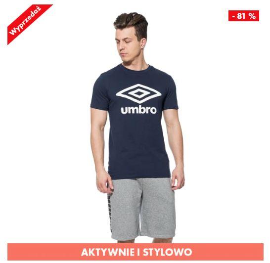 Męskie koszulki Umbro - 11 wzorów do wyboru