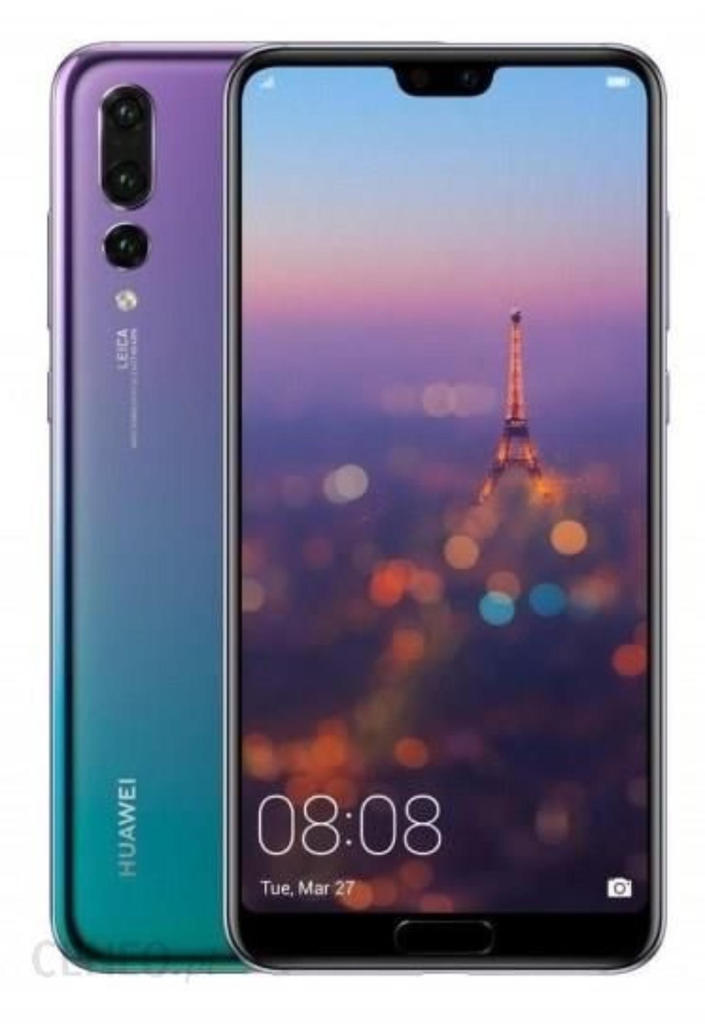 Huawei P20 Pro dual sim 6/128GB twilight w Media Markt
