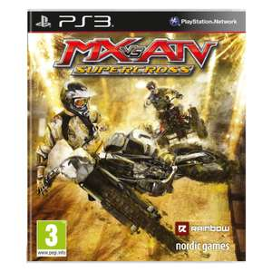 Gra MX vs ATV Supercross na PS3 Media Markt