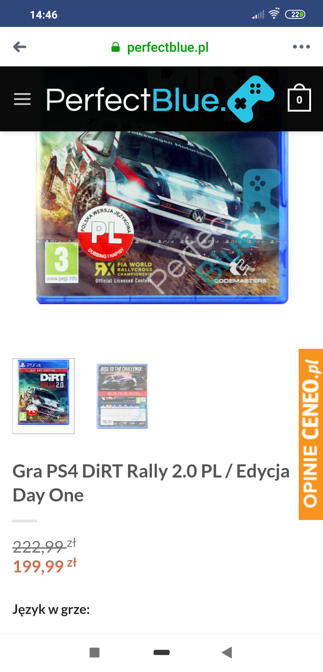 Dirt Rally 2 0  z Polszy