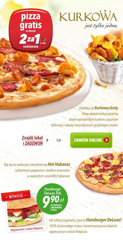 Dwie pizze w cenie jednej! @ Telepizza
