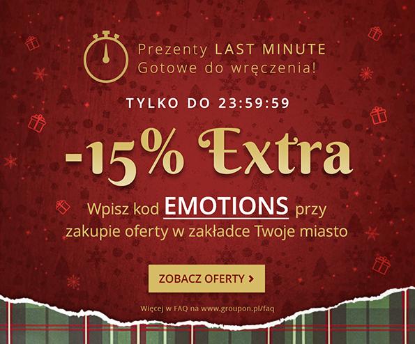 -15% Extra na zakupy w zakładce Twoje miasto @Groupon