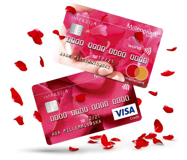 200 zł za/na kartę kredytową w banku Millenium